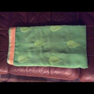 siphon Saree in green